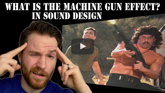 Radd's Pro Tips - What is the Machine Gun Effect in Sound Design
