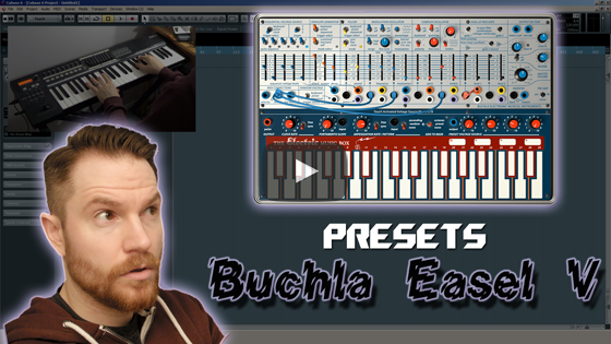 Noodling around with Arturia's Buchla Easel V