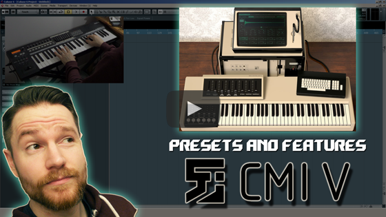 Noodling around with Arturia's CMI V