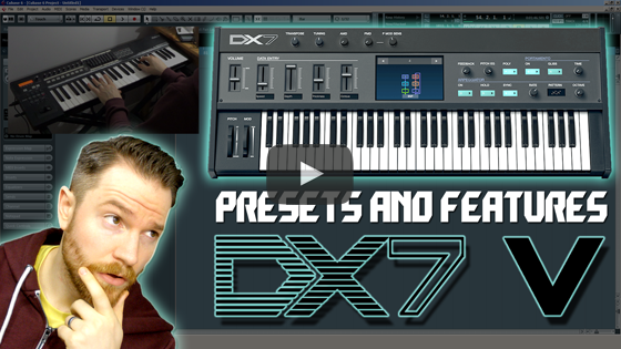 Noodling Around with Arturia's DX7 V
