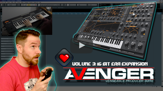 Noodling Around with Vengeance's Avenger 03 - 16bit Era Expansion