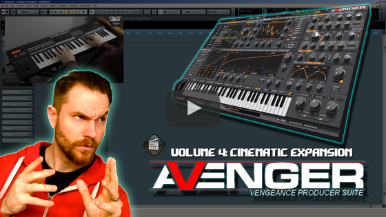 Noodling Around with Vengeance's Avenger 04 - Cinematic 1 Expansion