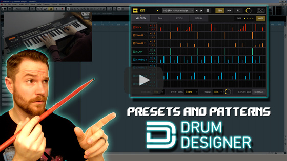 Noodling Around with UVI's Drum Designer - Presets and Drum Patterns