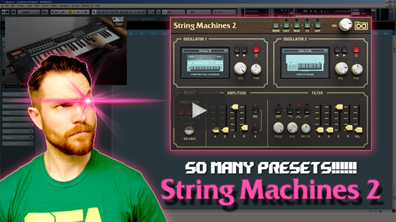 Noodling Around with UVI's String Machines 2