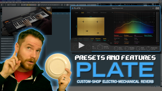 Noodling Around with UVI's Plate Reverb