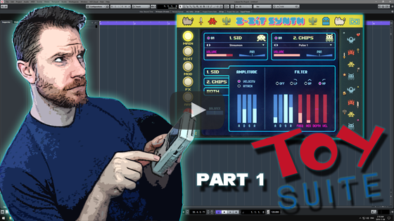 Noodling Around with UVI's Toy Suite 8Bit Synth