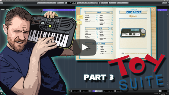 Noodling Around with UVI's Toy Suite Electric